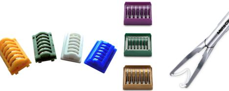 Cirugía - Clips de titanio o polímero